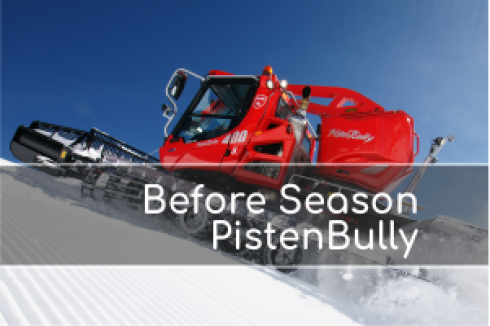 Before Season PistenBully